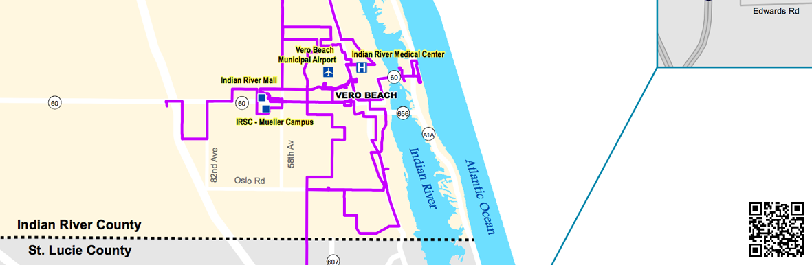 Treasure Coast Bus System Map – St Lucie TPO